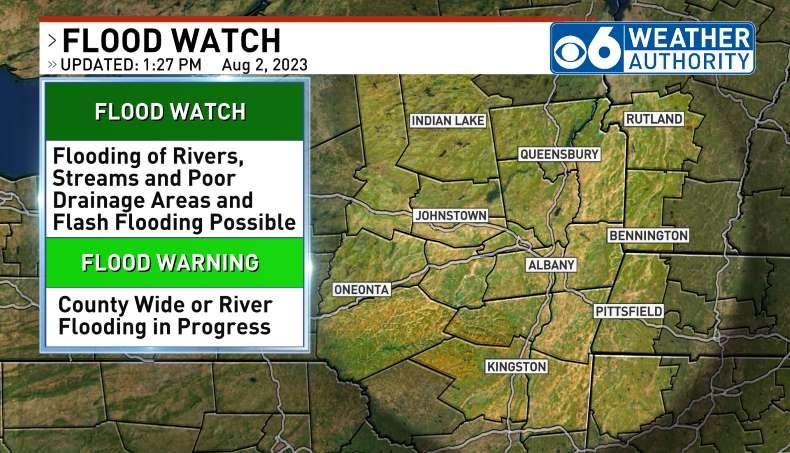 CBS6Albany.com: Flash Flood Alerts