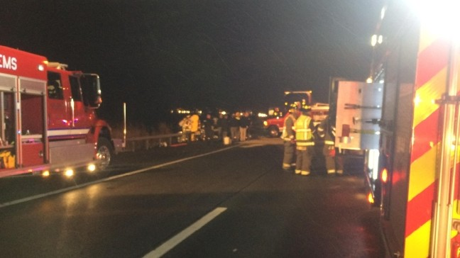 State Police: Three dead, several hurt in head on crash on I