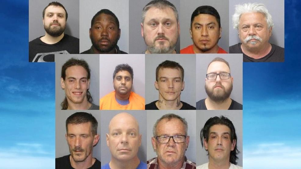 State Police: 13 arrested in 3 day underage sex